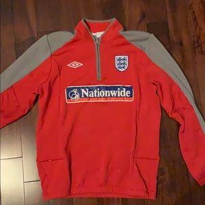 Umbro England 3/4 Zip.